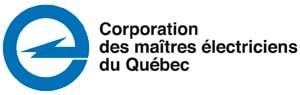 Logo corporation des Maitres électriciens du Québec
