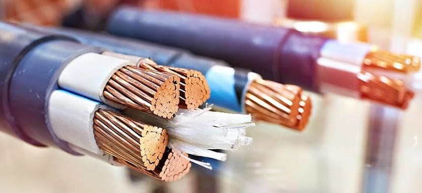 Câble électrique en cuivre