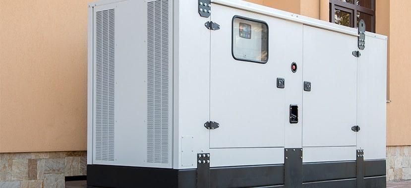 génératrice de secours moderne