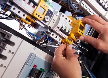 Branchement sur panneau électrique