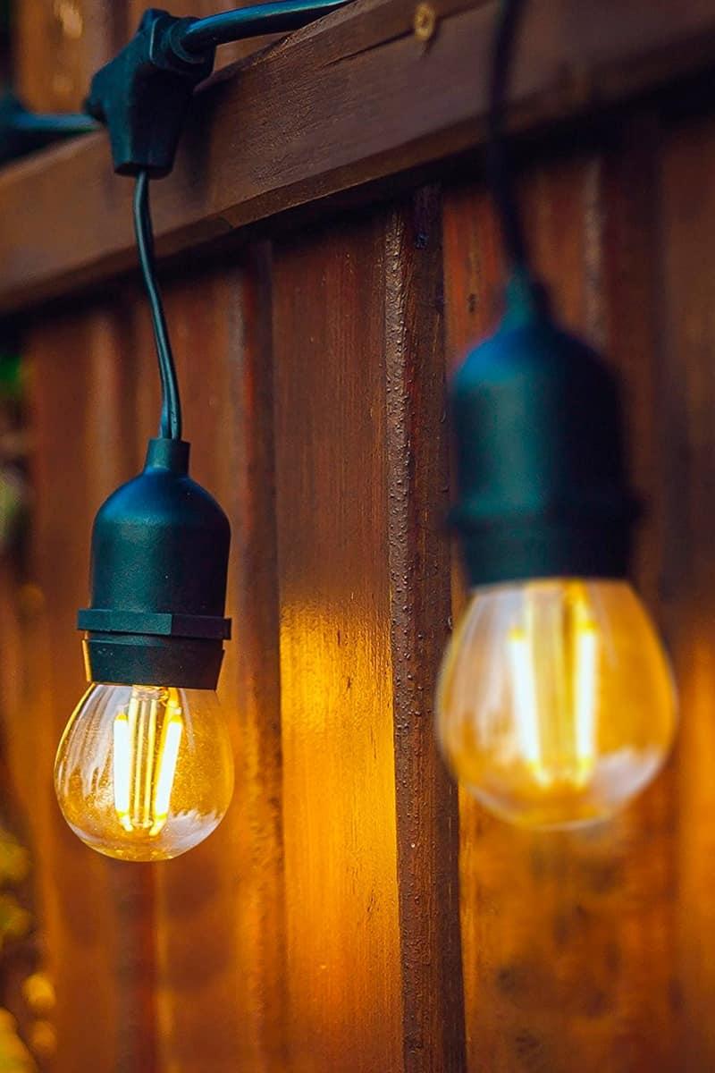 éclairage extérieur résidentiel