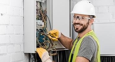 Branchements d'équipements électrique