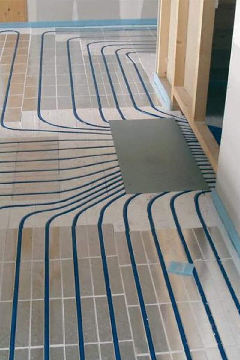 Installation des planchers chauffants à Brossard