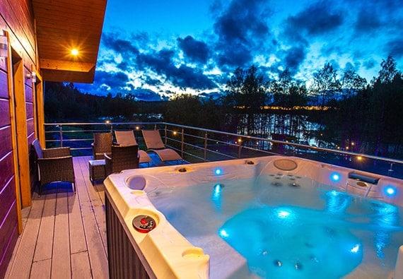 système électrique résidentiel pour spa, piscine et terrasse
