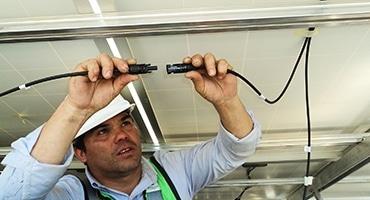 Installation et raccordement électrique